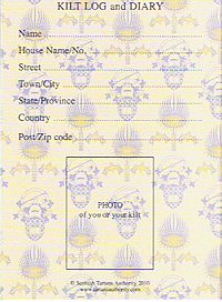 Page 4 of the Kilt Passport