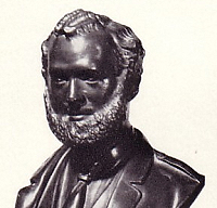 Bust of John Brown by Boem.
