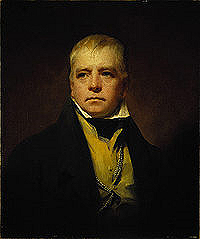 Portrait of Sir Walter Scott by Raeburn