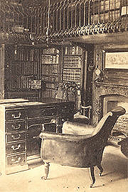 Sir Walter Scott's study at Abbotsford.