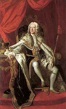 Portrait of King George III who introduced the Act of Proscription in 1747